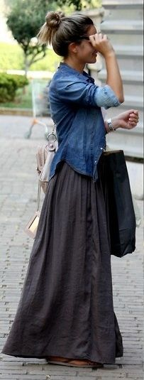 so into long skirts