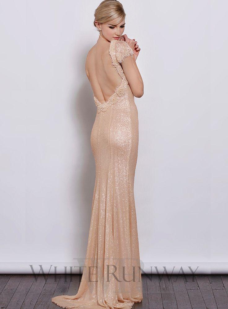 Nude, Sequin gown