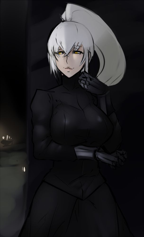 Black dress dark souls 3 ultra