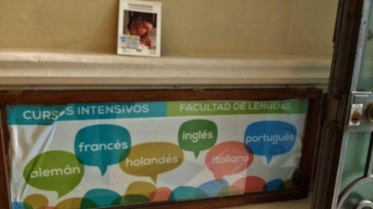 """El miércoles 08 de febrero de 2017 marianro liberó """"Cuadernos hispanoamericanos"""" en la Escuela de Lenguas de la Universidad Nacional de Córdoba."""