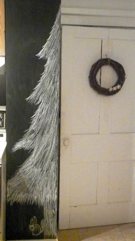 My little woodland creation..   # blackboard