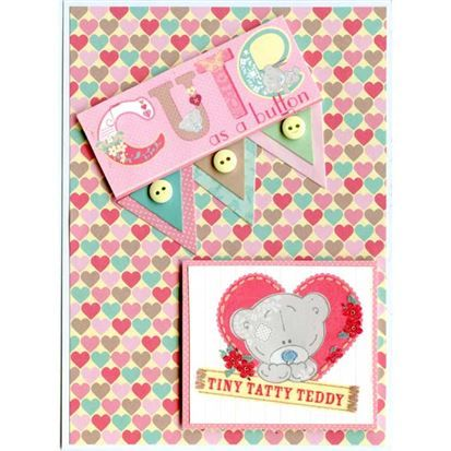 Me To You - Tiny Tatty Teddy Girl - 6 x 6 Paper Pack and mini bunting