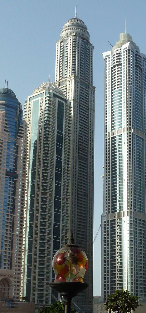 10 Tallest Apartment Buildings In The World-Princess tower Dubai. 101 floors