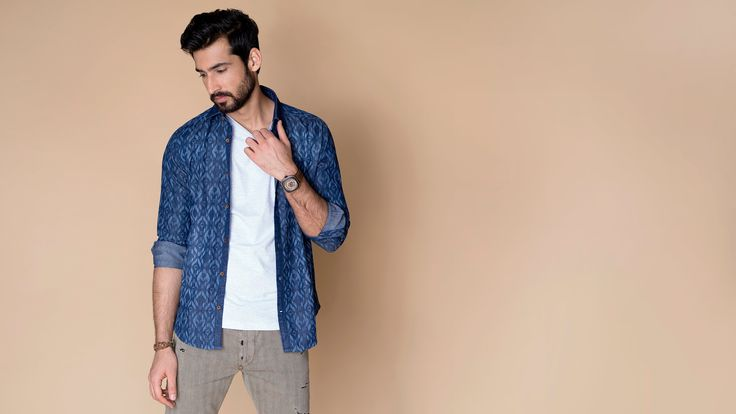 Buy Indian Jean luxury shirts for men online at Andamen at the best price. Andamen is the leading online portal for premium branded shirts for men in India. Free shipping and 60 days free returns