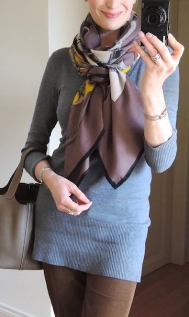 266 besten herm s scarves bilder auf pinterest - Hermes tuch binden ...