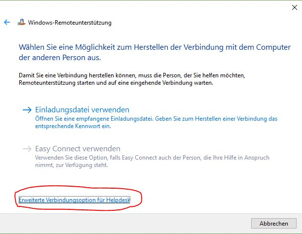 Windows Remote Support