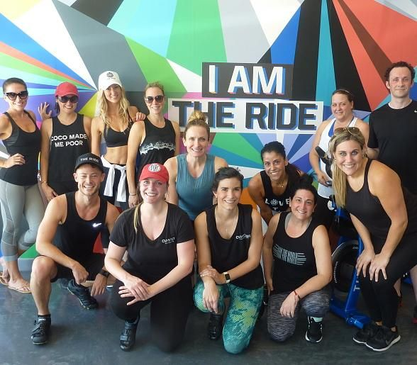 The Ride Care, Indoor Cycle Charity Bike Event Supports Olive Crest