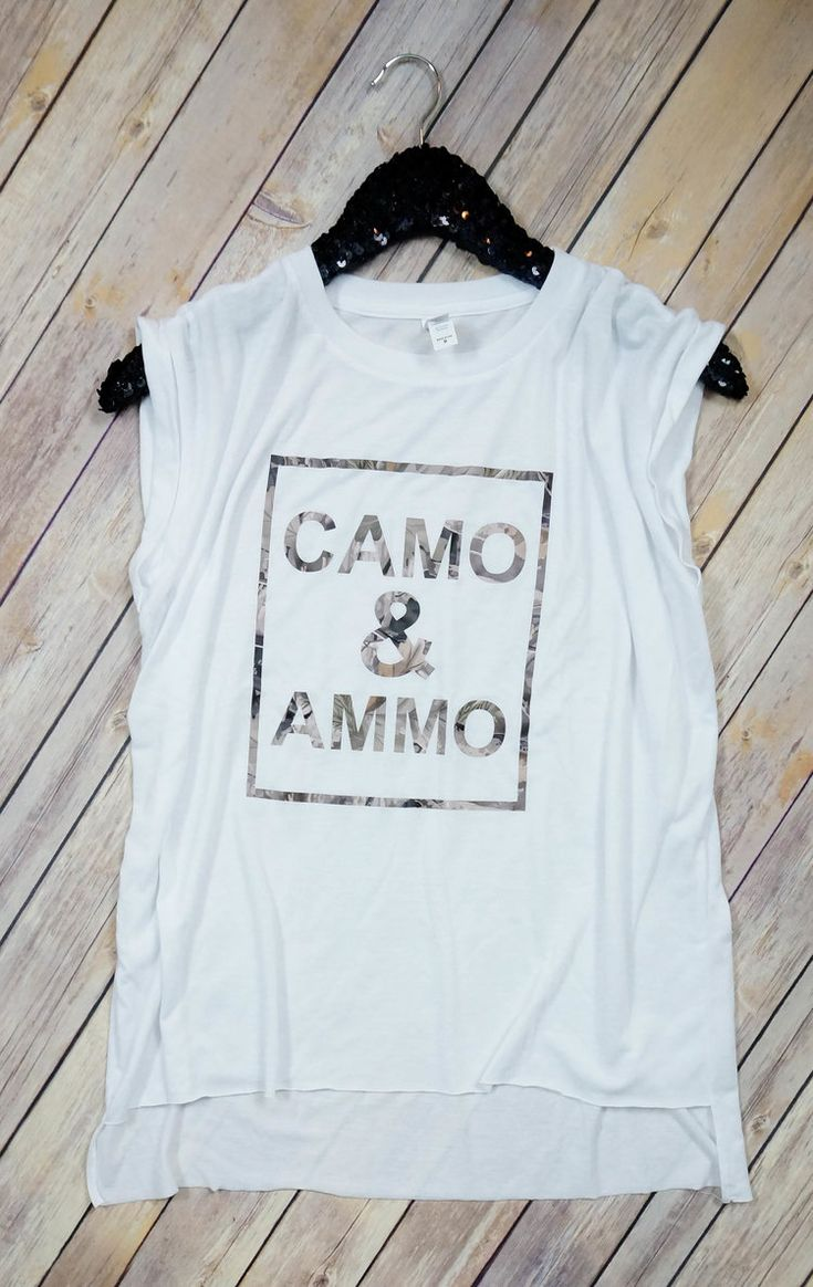 Country girl. Camo and ammo tank. 2A proud!
