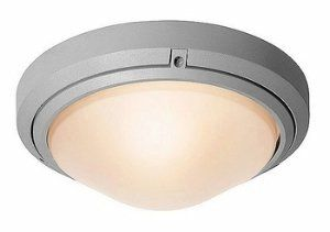 """Access Lighting 20355MG-SAT/FST Oceanus 10.5-inch Wet Location Ceiling/Wall Fixture,  Satin Finish and Frosted Glass by Access Lighting. $68.85. Projection from wall: 4""""  Diameter: 10.5"""". Exterior wet rated 