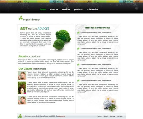 Web Design California High Quality Free Web Templates and Layouts