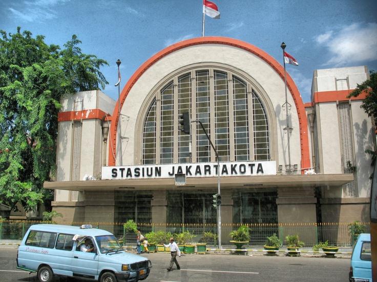 Stasiun Jakarta Kota #Jakarta #Indonesia