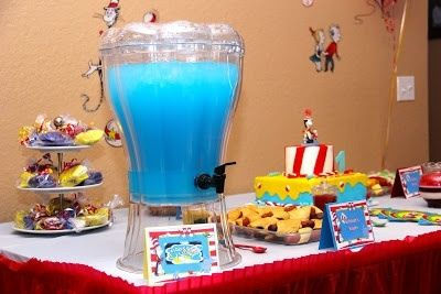 Dr. Seuss Birthday Party Ideas   Photo 1 of 9   Catch My Party