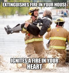 Ridiculously Photogenic Firefighter…: Giggle, Firefighters Rule, Damn Firefighters, Firefighter Quotes, Funny, Random, Funnies, Smile