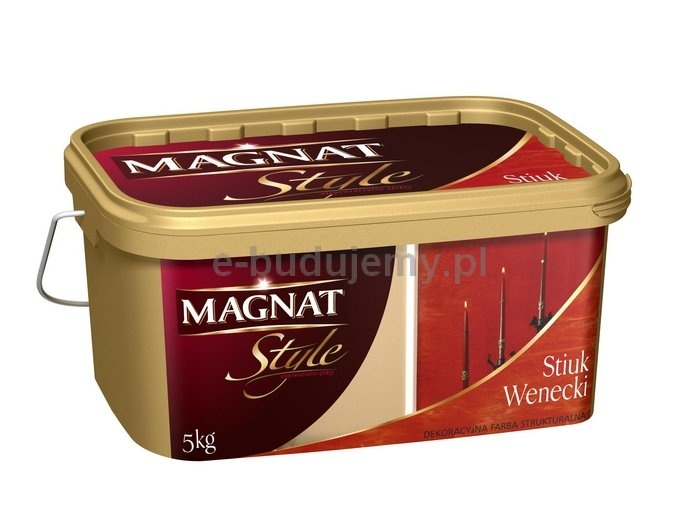 Stiuk wenecki 5 kg - cienki ozdobny tynk akrylowy
