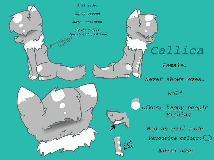 My new oc callica! :D I love the design of her and she's fun to draw!