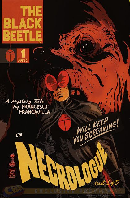 """THE BLACK BEETLE IN """"NECROLOGUE"""""""