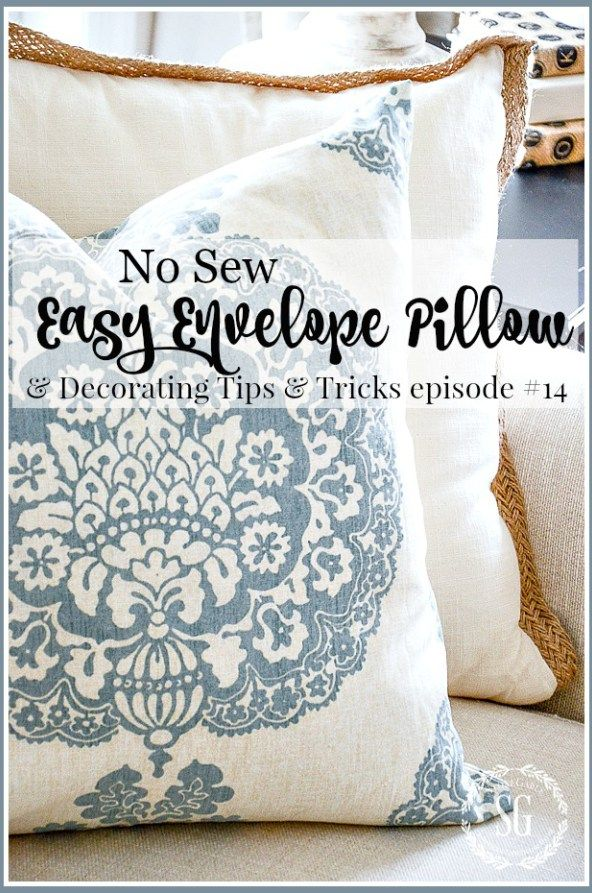 1000+ Ideas About No Sew Pillows On Pinterest | No Sew Pillow