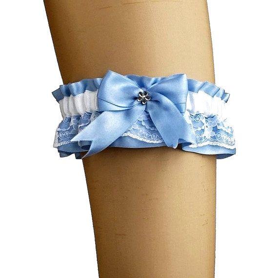 bridal garter garter in wedding vintage or by FashionForWomen