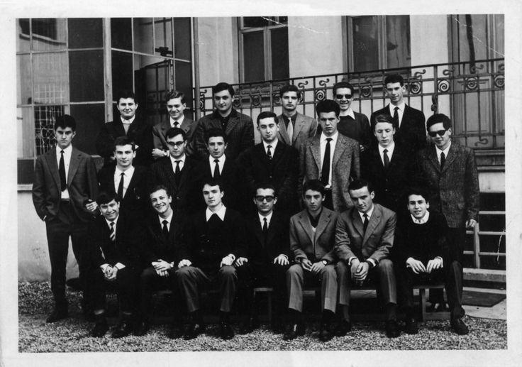 Gianfranco Ferré e la classe della maturità - 1963