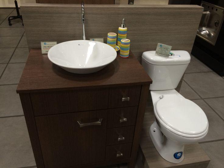 otra idea de u moderno mueble de bao adems tandor ofrece inodoros y lavamanos