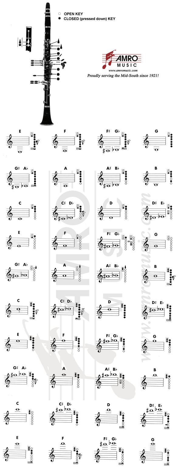 132 best Band Instrument Education images – Free Printable T Chart