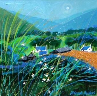 Deborah PHILLIPS ~ Glenland Farm ~ Contemporary Scottish Artist