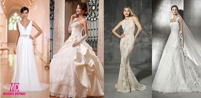 El vestido de novia perfecto, ¿cuál elegir según tu tipo de cuerpo?