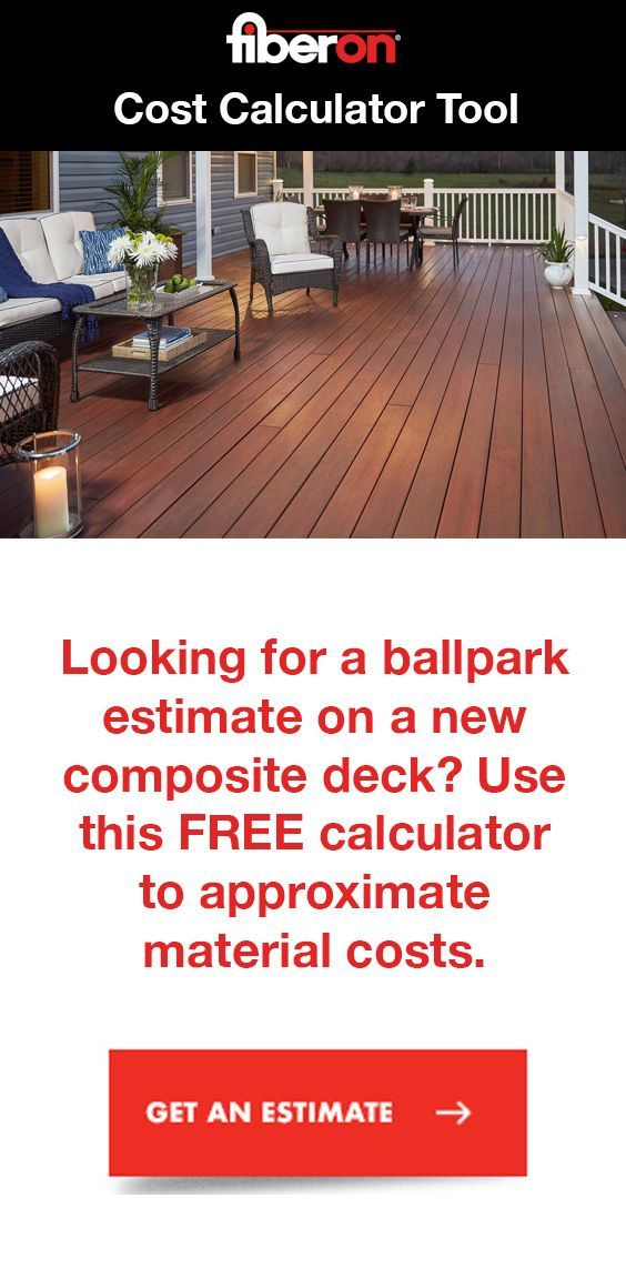 You've envisioned your dream deck and even started making some plans, but how much will it cost? It's now easier than ever to find out with our new cost calculator tool. #deckcost