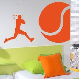 Vinilos decorativos deportivos de tenis - StickerSports, La Tienda de Vinilos Deportivos Online