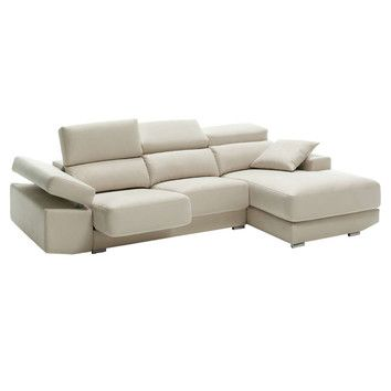 Eurosace Luxury Tecno Sectional Sofa with Chaise Lounge - Italian Fabric   $3,742.00