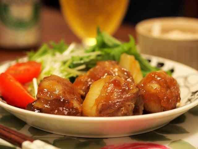 新玉の豚肉巻き トロトロあんかけ by ちゃみっこ2014