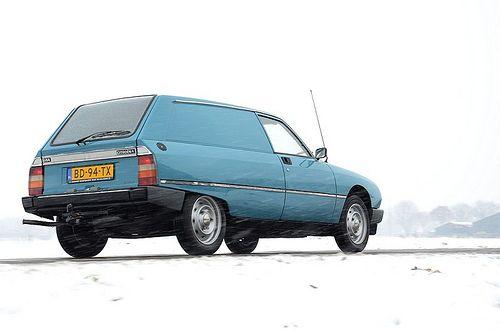 Citroën GSA Break Entreprise 1982