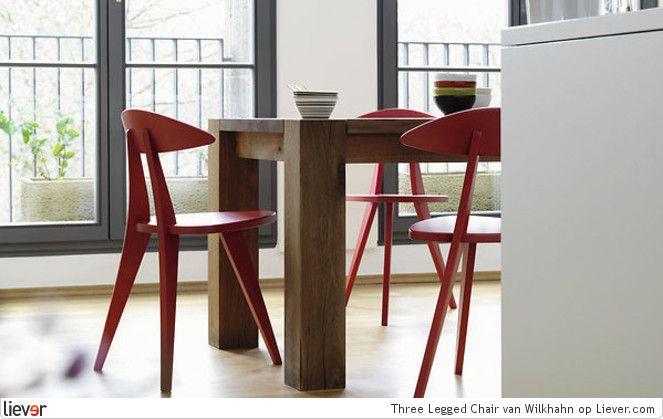 Wilkhahn Three Legged Chair - Wilkhahn stoelen & eetkamerstoelen - foto's & verkoopadressen op Liever interieur