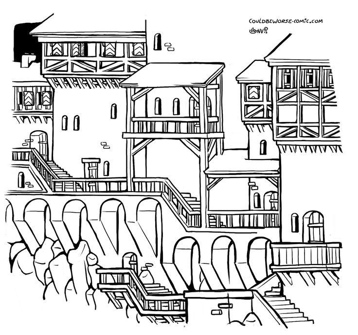 city medival fantasy