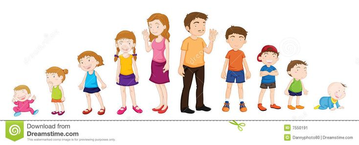 Human life stages for kids - photo#21