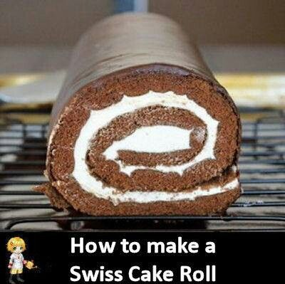 Swiss Roll Cake Recipe Joy Of Baking