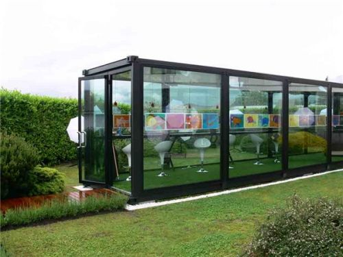 This is a greenhouse I could use. V cool