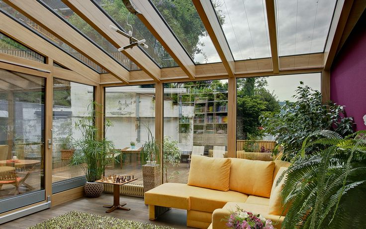 BAUMANN Wintergarten. Stockheim, Niemcy. Produkty: SGG CLIMAPLUS ONE, SGG CLIMAPLUS ULTRA N, SGG BIOCLEAN, SGG STADIP. #glass  #architecture #interior #design