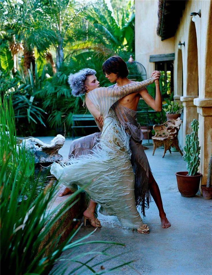 Steven Meiselm Dansen op blote voeten