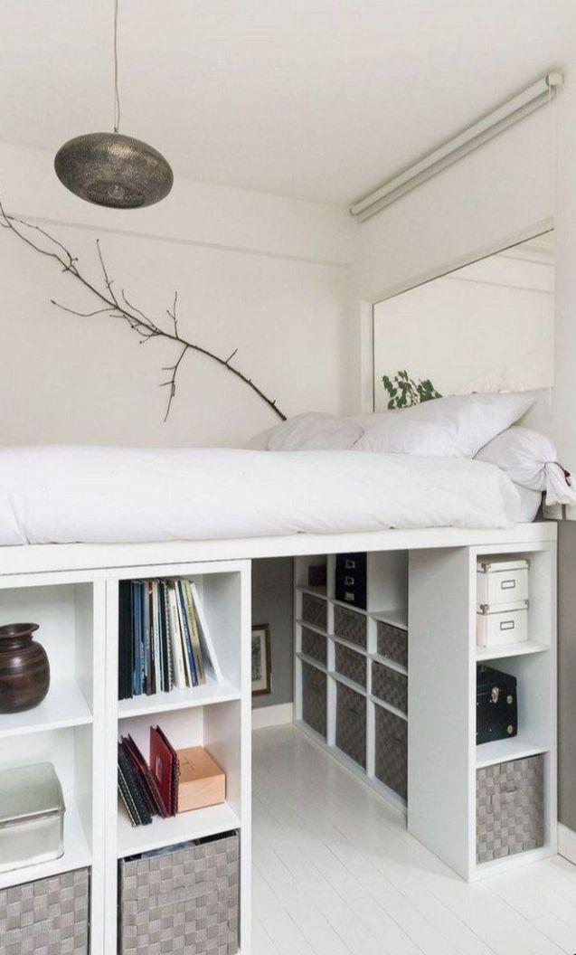Kallax Shelf Unit White 30 3 8x57 7 8 Ikea Diy Loft Bed Ikea Loft Bed Small Room Bedroom