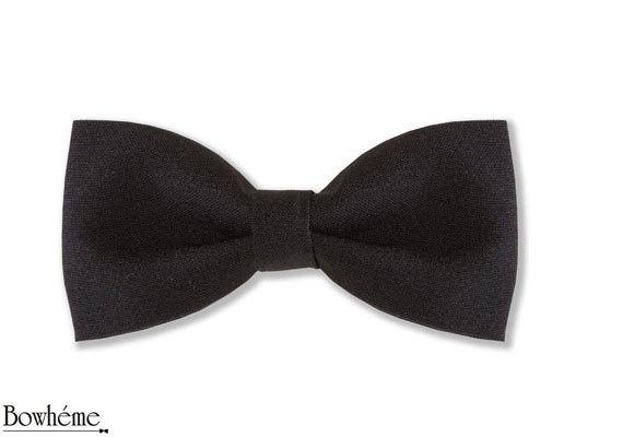 Grooms Black Pre Tied Bow Tie  ELEGANZA SEMPLICE #bowtie #bow #tie #grooms #mens #fashion #bowheme  . by Bowheme, $12.00