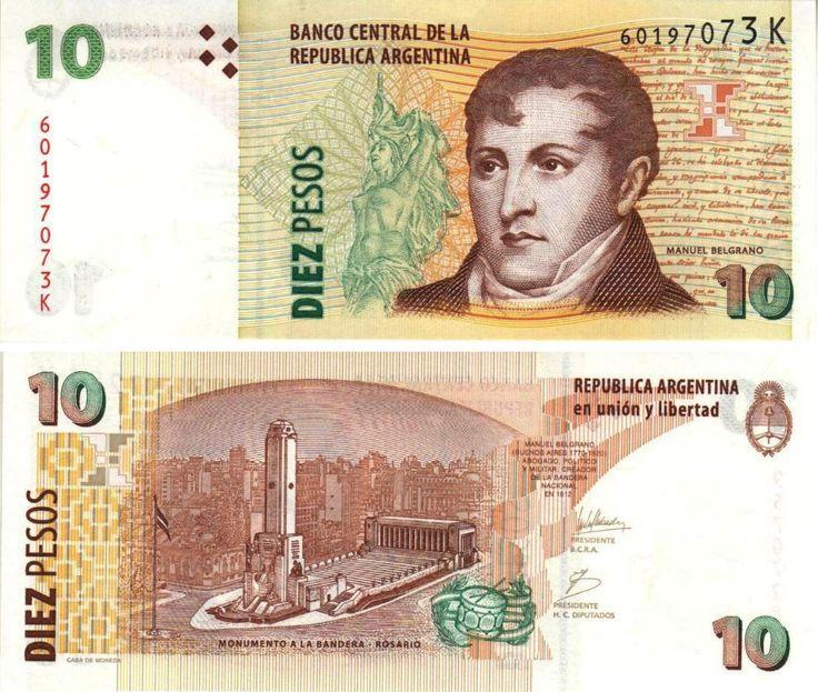 Argentina 10 pesos