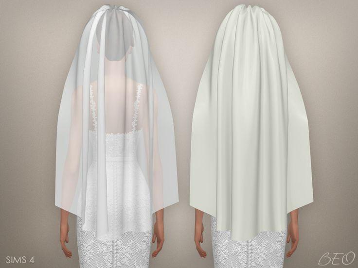 Wedding veil 03 (S4) DOWNLOAD - BEO creations
