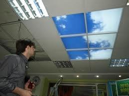 gökyüzü tavan