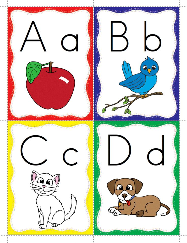 Classroom Freebies: Alphabet Flashcards Freebie!