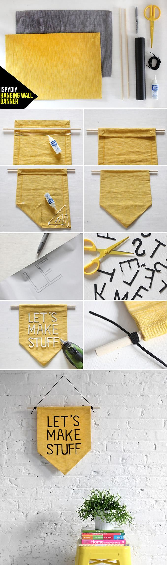 How to make your own banner!