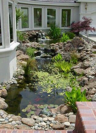 Sum1 did a phenomenal job on this manmade pond~