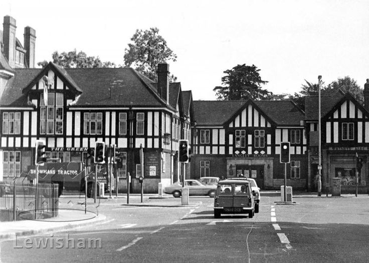 The Green Man Pub Southend Road And Bromley Downham Near Kent England In