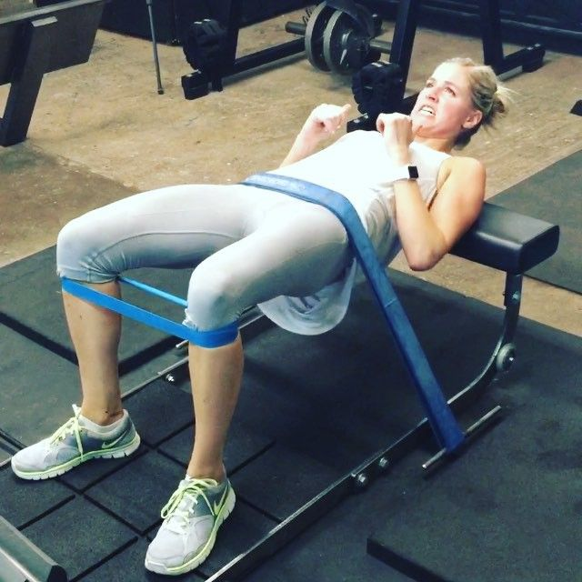 Glute burn out! I must try this.