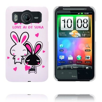 Glad Tegnefilm (Kanin) HTC Desire HD Cover